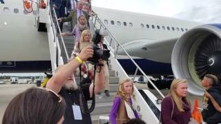 TigerNet.com - Clemson arrives at national championship 2