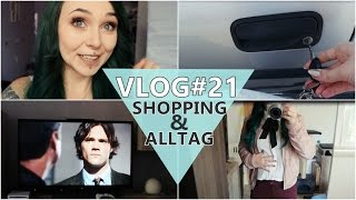 Vlog#21 - VIDEODAY Outfit kaufen + Alltag