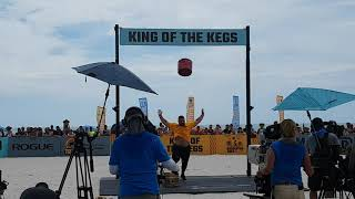 Aivars Smaukstelis WINS King of Kegs - World's 11th Strongest Man 2019