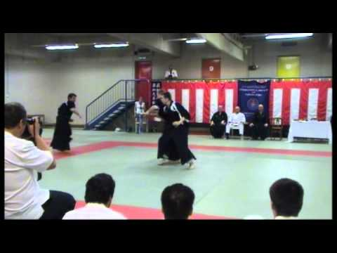 Takeda Ryu Kobilza Ha Demonstration - Aikido - San Nin Gake