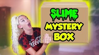 $500 SLIME MYSTERY BOX FROM ETSY! HUGE SLIME PACKAGE UNBOXING