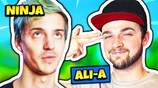 NINJA TALKS ABOUT ALI-A CLICKBAIT   Fortnite Daily Funny Moments Ep.170