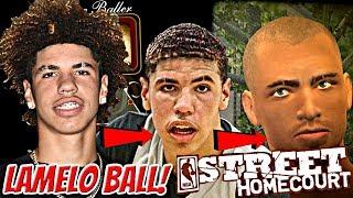 NBA STREET HOMECOURT LAMELO BALL #1 - CREATION OF STREET BALL LEGEND LAMELO BALL! BUILDING A SQUAD!