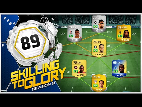 Fifa 14 - Skilling To Glory S2 ''ronaldinho Skill Squad'' Episode 89 video