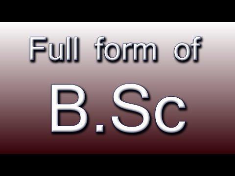 Full form of BSC - Zaclip.Com