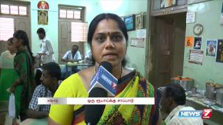 "Couple serves "" one rupee meal "" at Erode Government hospital 