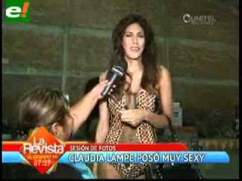 Las 3 facetas de Claudia Lampe MAGNIFICA bolivia