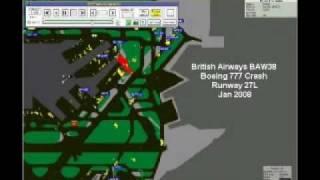 BAW38 G YMMM B777 Crash RNW27L