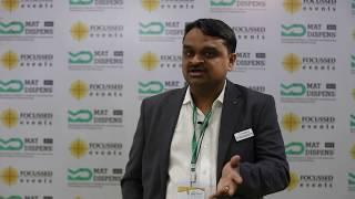 Ulhas Peddawad - MATDISPENS EXHIBITION, 28-30th November 2018 - Bombay Exhibition Center, MUMBAI