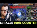 Miracle knows HOW TO COUNTER Matumbaman — RAMPAGE Anti-Mage