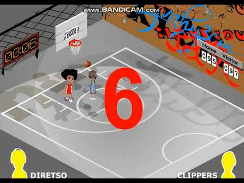 Otso Diretso vs Los Angeles Clippers Basketball Hard Court Highlights Games 1