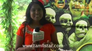 Meena At Pandiyoda Galatta Thangala Movie Team Interview