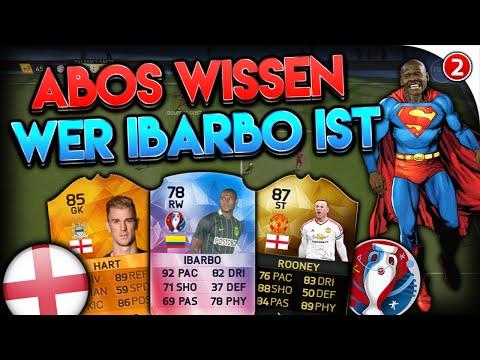 FIFA 16: ABOS WISSEN WER IBARBO IST • EM 2016 • ENGLAND