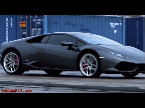 Lamborghini Huracán Driving Car Chase Mini Movie Pursuit Video CARJAM TV HD 2014