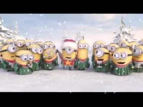 Minionki -piosenka Na święta