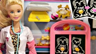 Pet Vet Doll and Playset / Barbie jako Weterynarz - Barbie Carrers - CCP70 - Recenzja