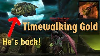 How to Make Gold Efficiently With Timewalking (How to Spend Time-Warped Badges)!