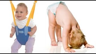 FUNNY BABY | Cute Babies Learning To Walk Compilation 2015 - Cute Twin Baby Laughing
