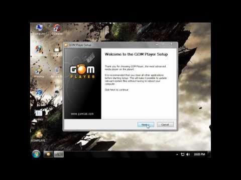 Best free video player - GOM Player tutorial & download link