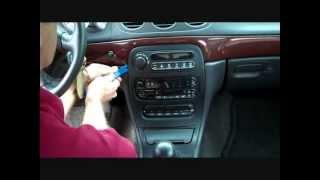 Chrysler 300M Stereo Removal 1999-2004