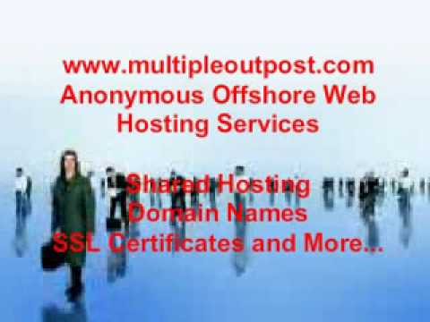 Anonymous Hosting Services