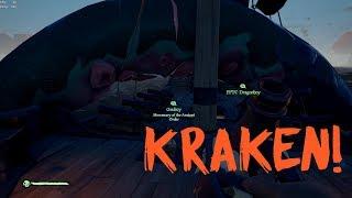 Sea of Thieves: Escaping The Kraken's Grasp!