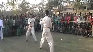 Karate Fight of chittagong, Bangladesh.