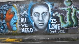 COLDPLAY (Paradise) - GRAFFITI ART San Ramon COSTA RICA Surrealism PEACE Love JESUS Sex ANIME