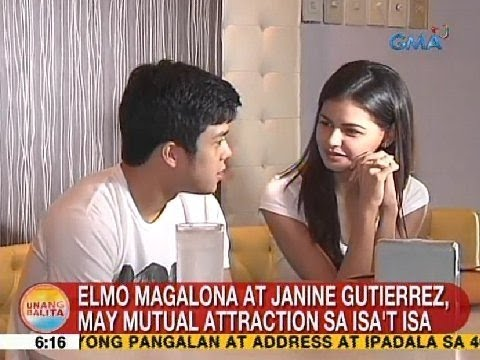 UB: Elmo Magalona at Janine Gutierrez, may mutual attraction sa isa