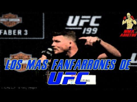 LOS PELEADORES MAS FANFARRONES DE UFC