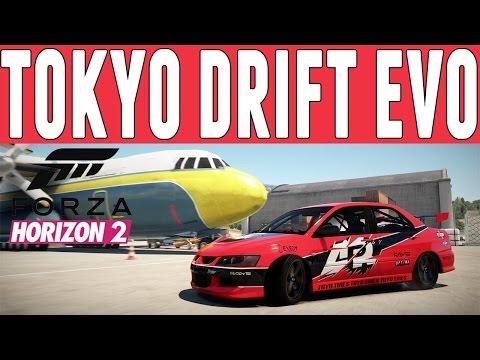 Forza Horizon 2 Fast & Furious Drift Build : Sean's Evo Drift Build