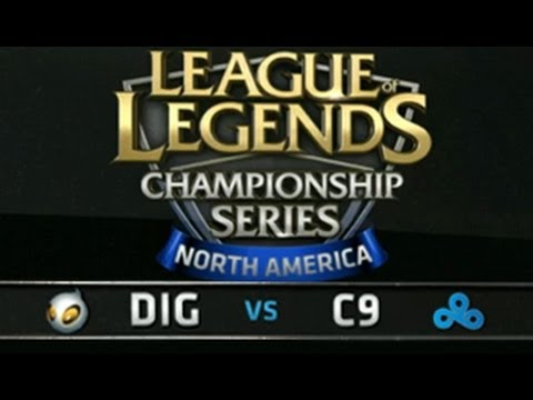 Dignitas vs Cloud 9 - LCS NA Summer Split, Week 1 Day 1