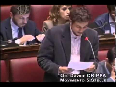 Davide Crippa (M5S): IMU a piccoli artigiani ma a ENI no? – 15/10/2013