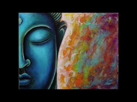 Blue Buddha Painting