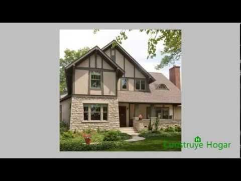 Fachadas de casas rústicas, diseños y modelos