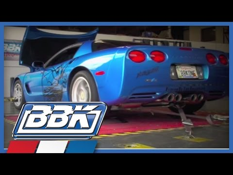 Corvette C5 C6 Full Length Exhaust Headers Installation & Dyno Test