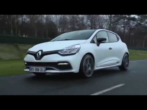 The limited-edition Renault Clio R.S. 220 EDC Trophy Driving Video   AutoMotoTV