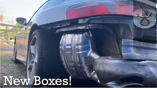 Porsche 996 Replacing Exhaust with Rusted Bolts
