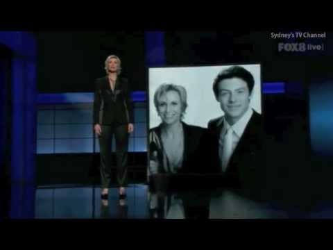 The 65th Primetime Emmy Awards Cory Monteith Tribute 23 September 2013