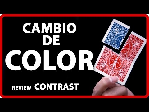 Cambio color de carta BESTIAL - Review CONTRAST