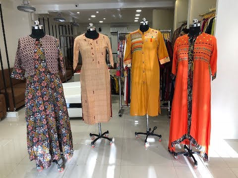 EXCLUSIVE PRINTED DESIGNER KURTI IN WHOLESALE | BOUTIQUES TASTE KURTI | HAND MADE KURTI DESIGN