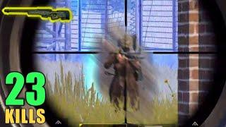 FASTEST AWM HEADSHOT ?? | 23 KILLS SOLO VS SQUAD | PUBG MOBILE