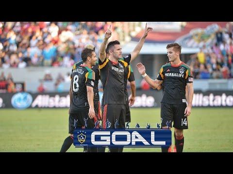 Robbie Keane chip goal vs Chivas
