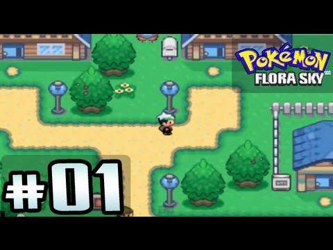 Flora Sky Map Pokémon Flora Sky Parte 1