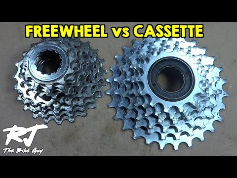 Freewheel vs Cassette - What Are They? Can I Convert?