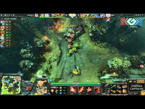 LGD.cn vs DT Game 2 - G-League Group Stage DOTA 2 - Tobiwan & Capitalist