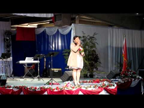 Kristine Xiong at the Fresno New Year 12/30/12