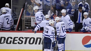 Maple Leafs return home with their backs against the wall
