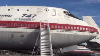 Detailed Views of the First Boeing 747 Built