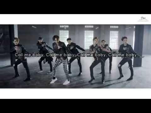EXO-K (엑소) - Call Me Baby (콜 미 베이비) Karaoke